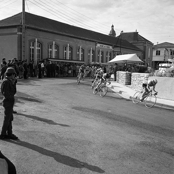 Course Cycliste Quartier-Gare à Eauze