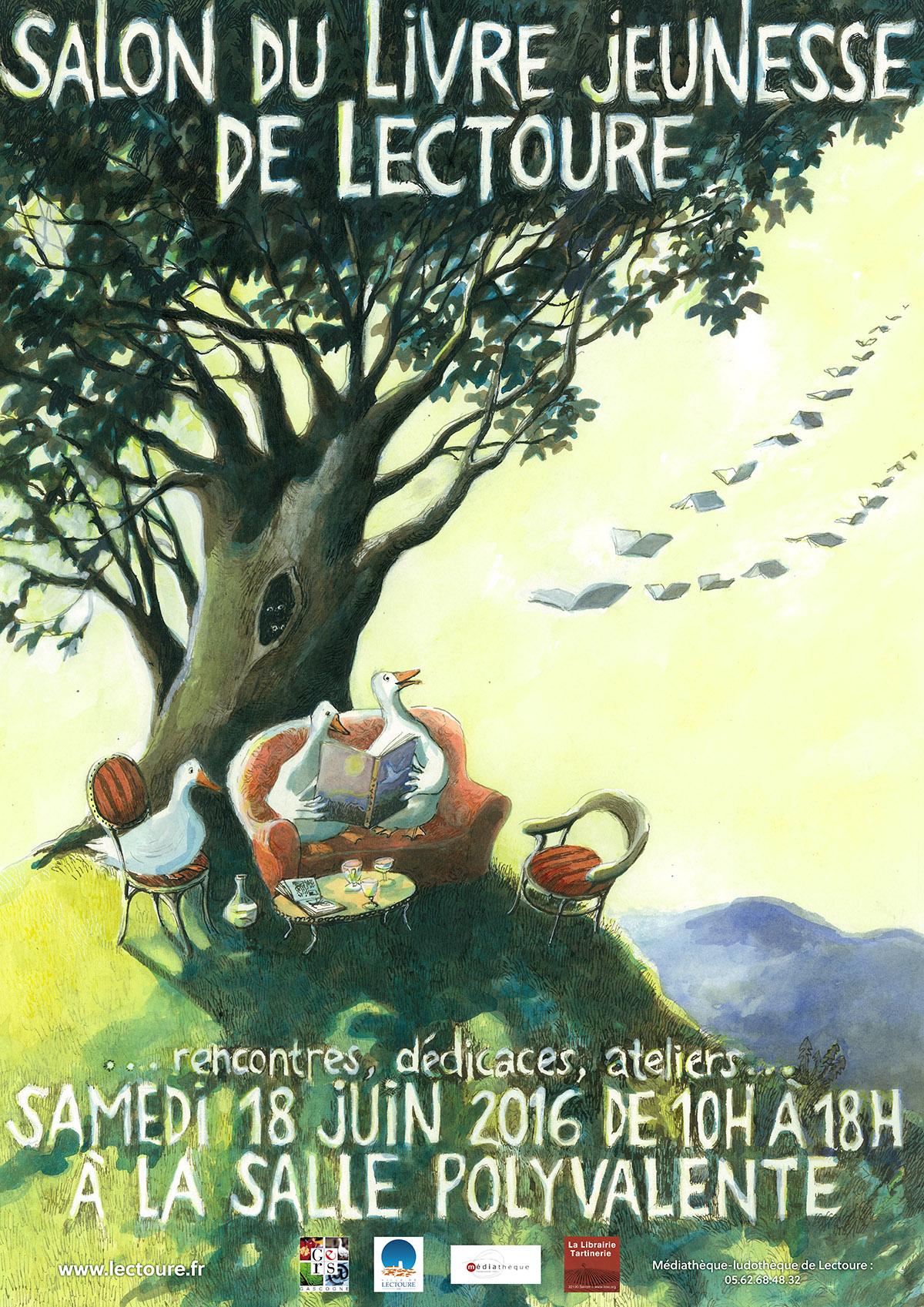 8 me salon du livre jeunesse de lectoure salon litt rature jeunesse animations m diagers - Salon du livre mouans sartoux ...