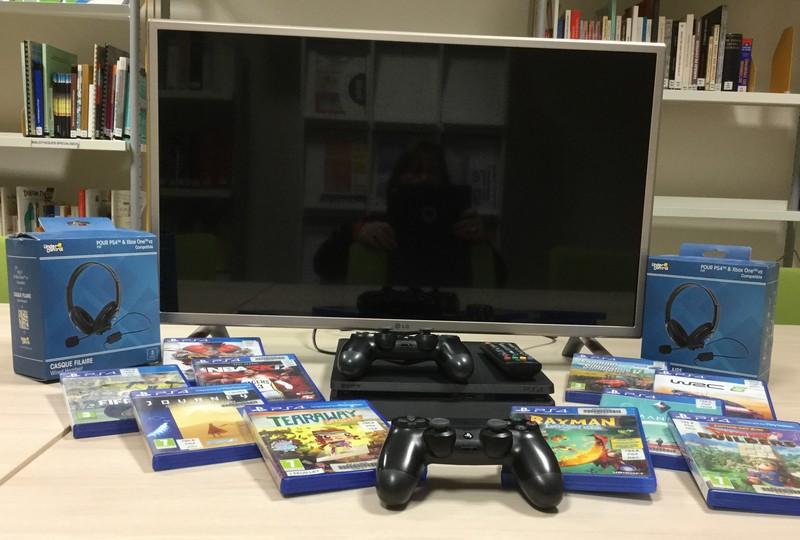 tele et jeu video
